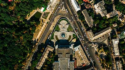 center-of-the-city-from-above-A996Z9S
